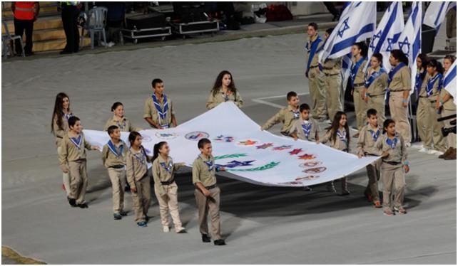 המכביה: הרבה התלהבות יהודית, וחרב שיוצרה בסין/אילן גילדמן
