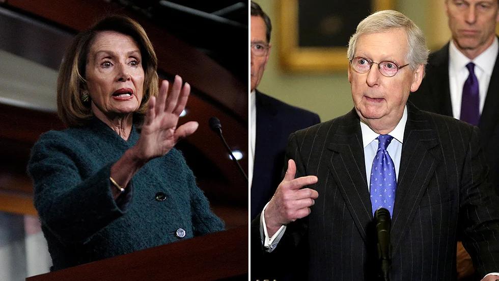 הדמוקרטים והרפובליקנים ממשיכים לא להסכים על המשך הסיוע לציבור